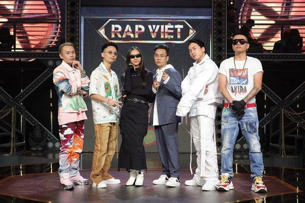 Rap Việt - gameshow chính thống đầu tiên dành cho giới rapper Việt Nam