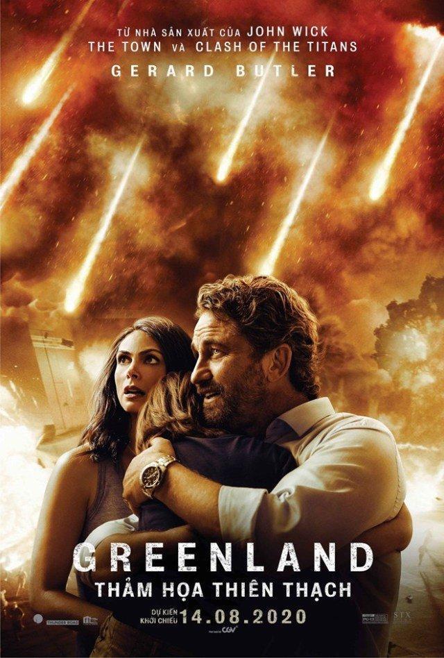Poster phim Greenland (Nguồn: Internet)