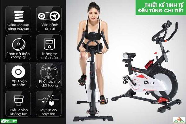 Xe đạp tập thể dục ELIP Everton