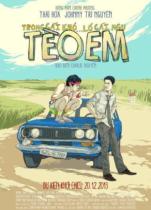 Poster phim Tèo Em. (Ảnh: Internet)