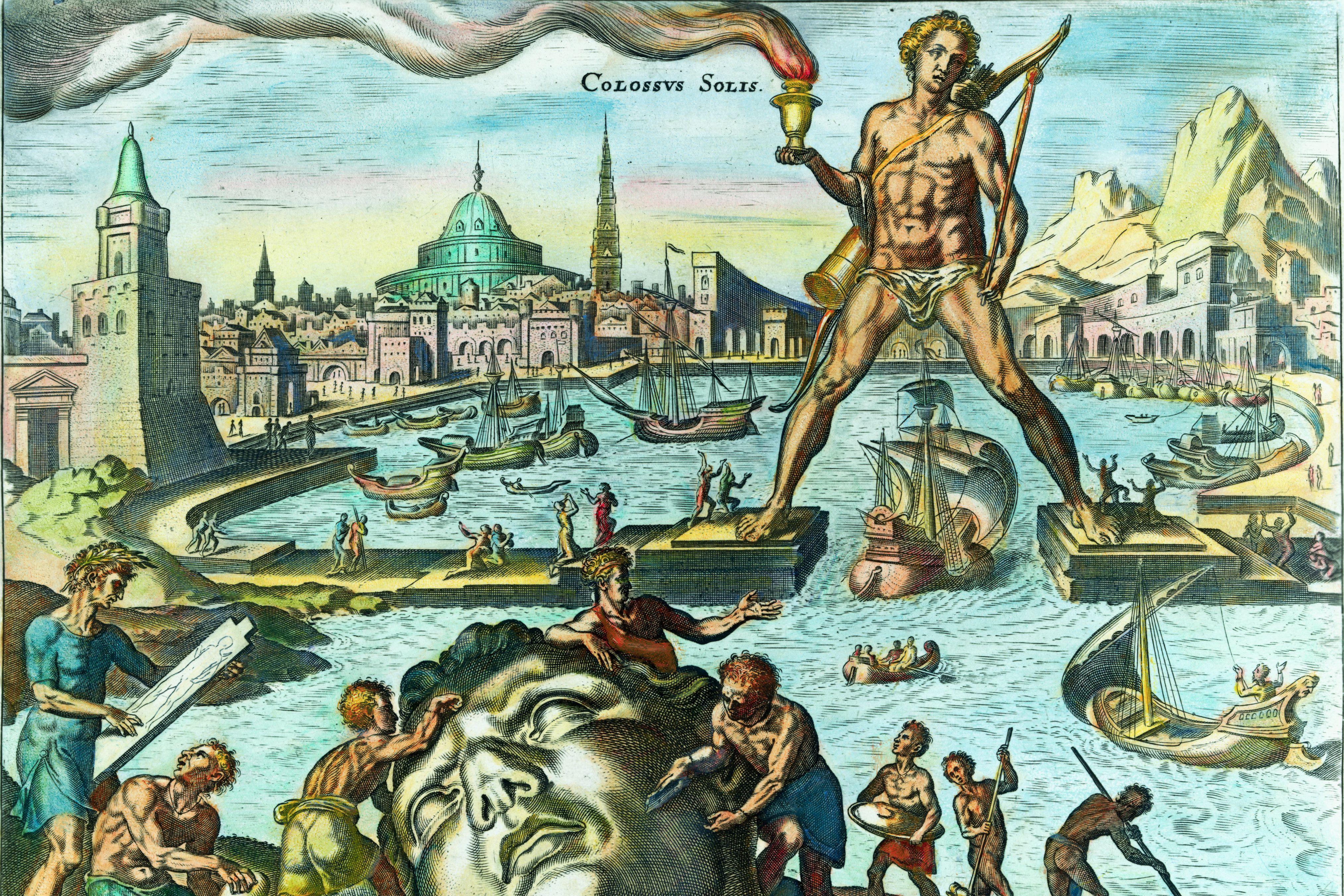 the Colossus ở Rhodes là gì?