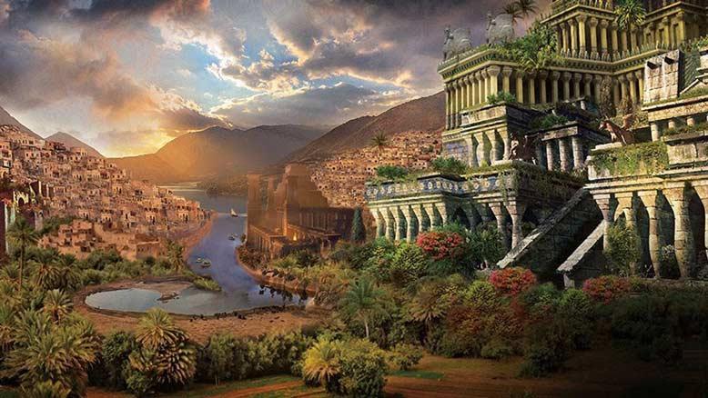 Nhắc đến 7 kỳ quan thế giới cổ đại không thể quên công trình vườn treo Babylon