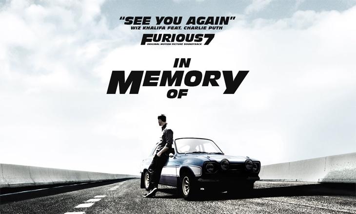 See You Again – Charlie Puth, Wiz Khalifa