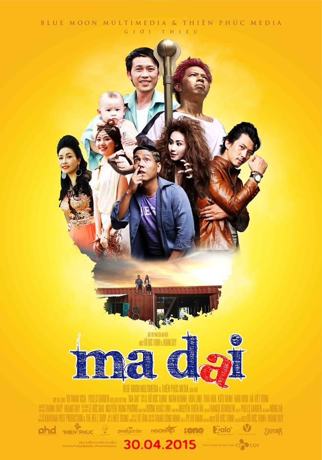 Tình Cảm | Hài] Ma Dai 2015 1080i HDTV AAC2.0 H.264-DaDoMedia ( Hoài Linh,Ngân  Khánh, Đức Thịnh, Ki | HDVietnam - Hơn cả đam mê