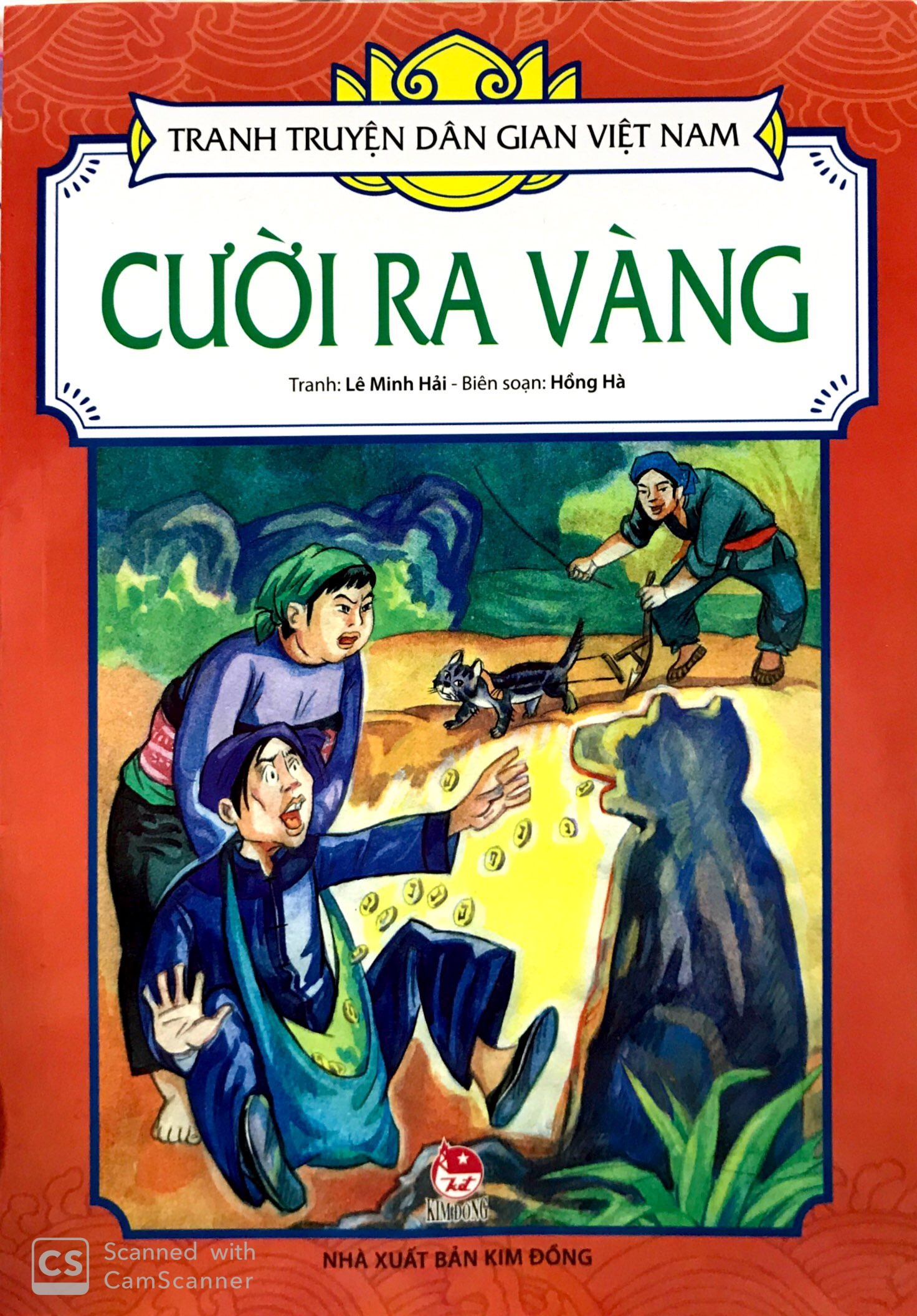 Sách Tranh Truyện Dân Gian Việt Nam: Cười Ra Vàng (Tái Bản 2019) -  FAHASA.COM