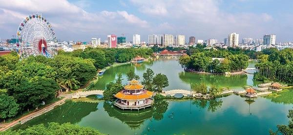 Kinh nghiệm ăn chơi ở công viên văn hóa Đầm Sen kèm giá vé