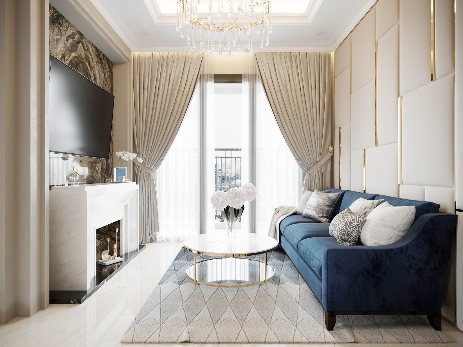 Tối ưu ánh sáng cho căn hộ 100m2 thoáng đãng
