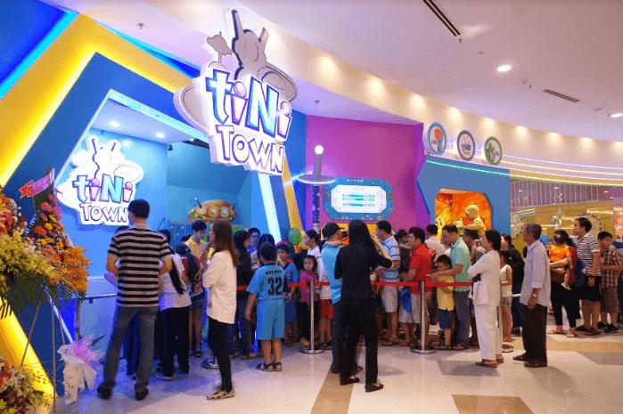Khám phá Tiniworld tổ hợp vui chơi trẻ em hàng đầu Việt Nam