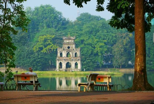 Hình Ảnh Hồ Gươm Hà Nội, Ảnh đẹp Hồ Gươm 4 mùa