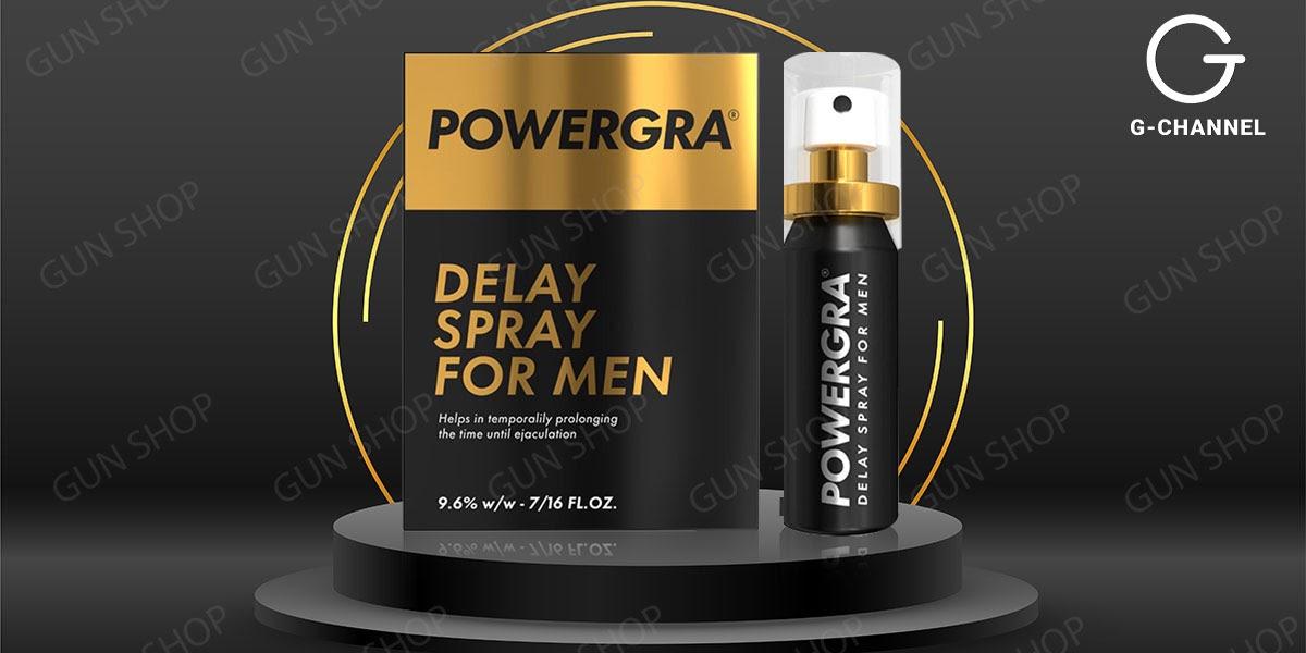 Chai xịt chống xuất tinh Powergra Delay Spray For Men